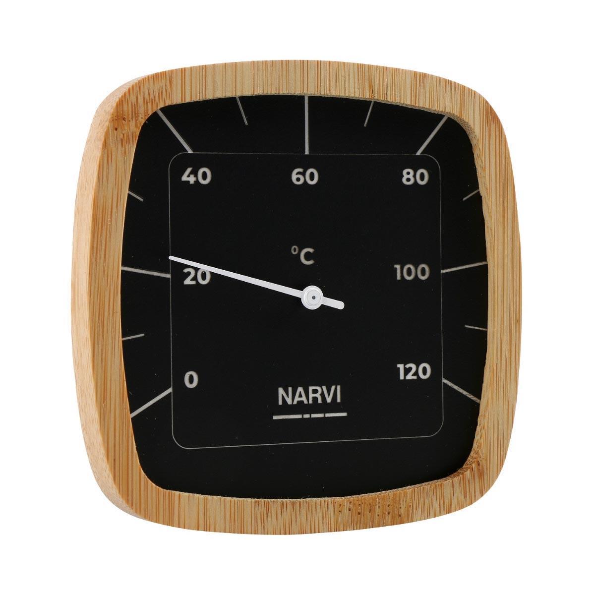 Stylish sauna thermometer