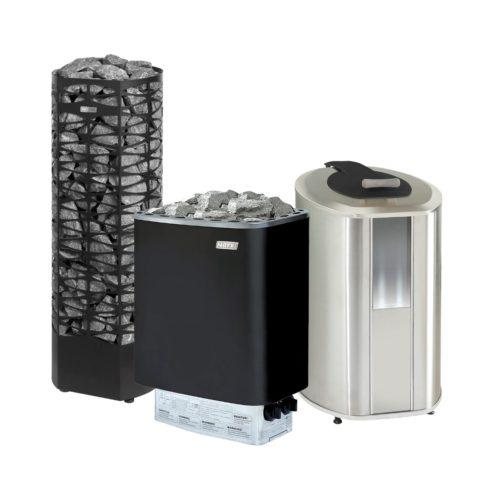 Electrical sauna heaters
