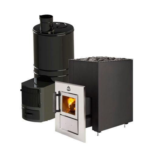 Tunnel model sauna stoves